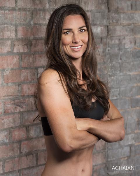 Jessica Vampola gym time